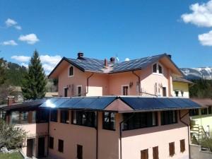 Impianto solare termico per Hotel di Pescasseroli
